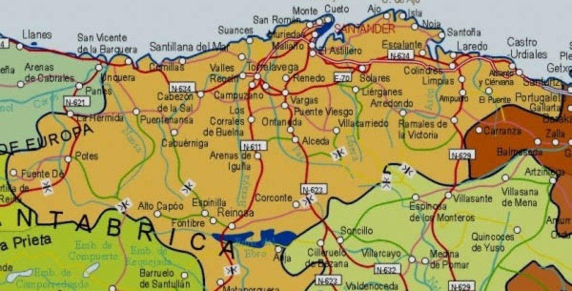 Fomento Actualizara Los Mapas Provinciales De Cantabria Y Otras