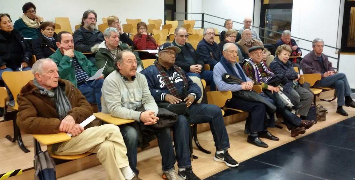 Foto de Archivo de una reunión de ASOPEVE en Asturias