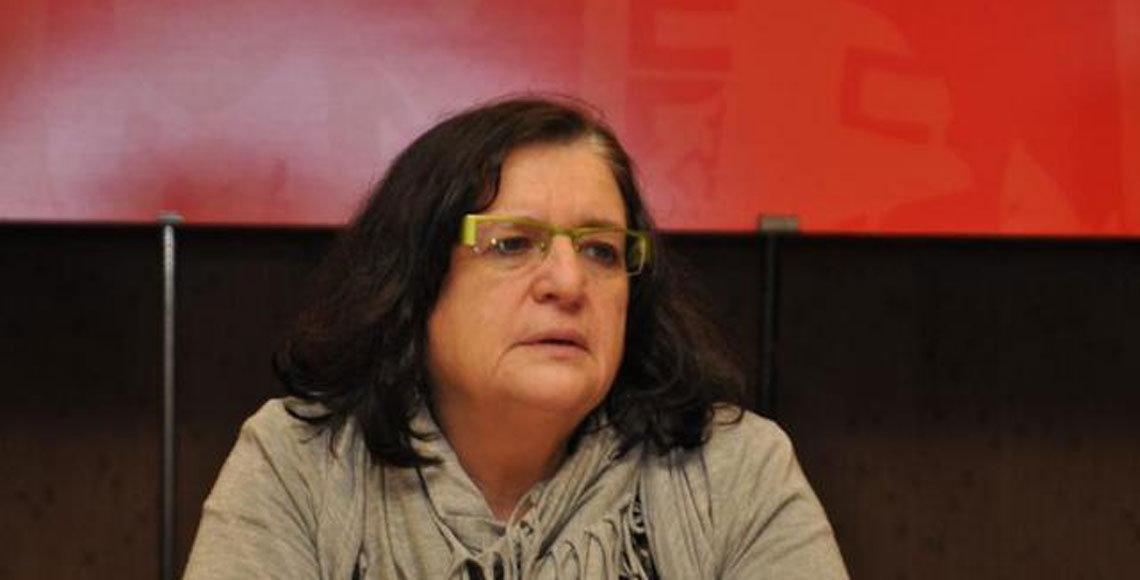La secretaria de Política Social de CC.OO., Adela Poisa.