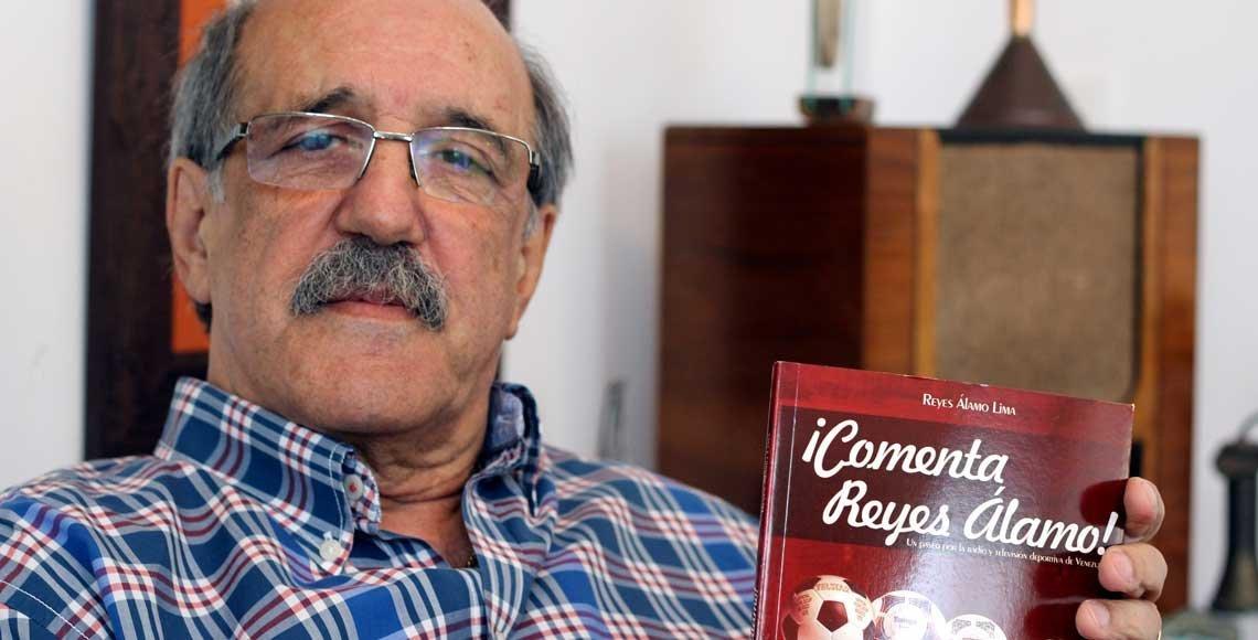 Reyes Álamo es el precursor e ideólogo de la presencia del futbol internacional en todos los hogares de Venezuela.