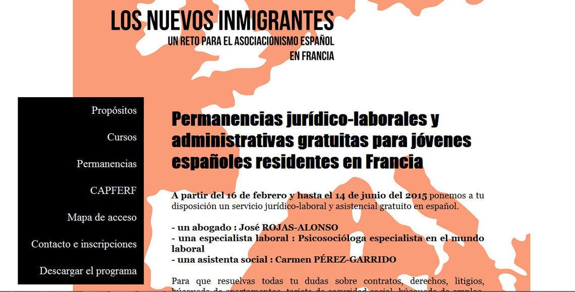Cartel informativo sobre las permanencias jurídico-administrativas de la CAPFERF.