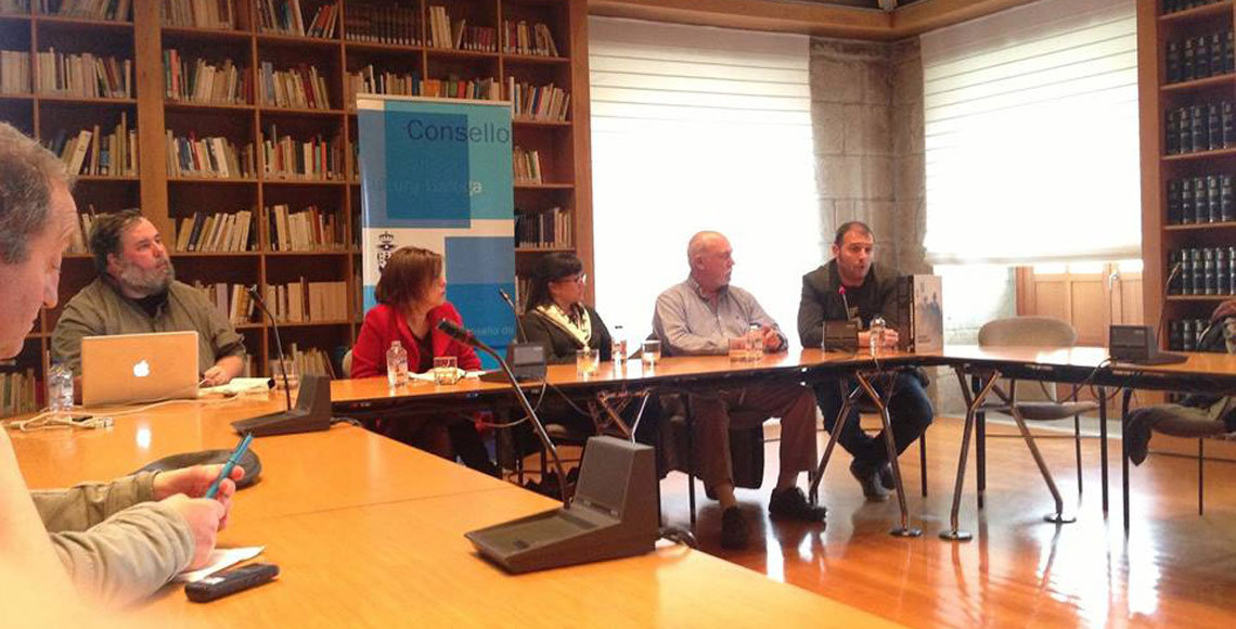 Presentación del proyecto Spanish Inmigrants en Galicia.