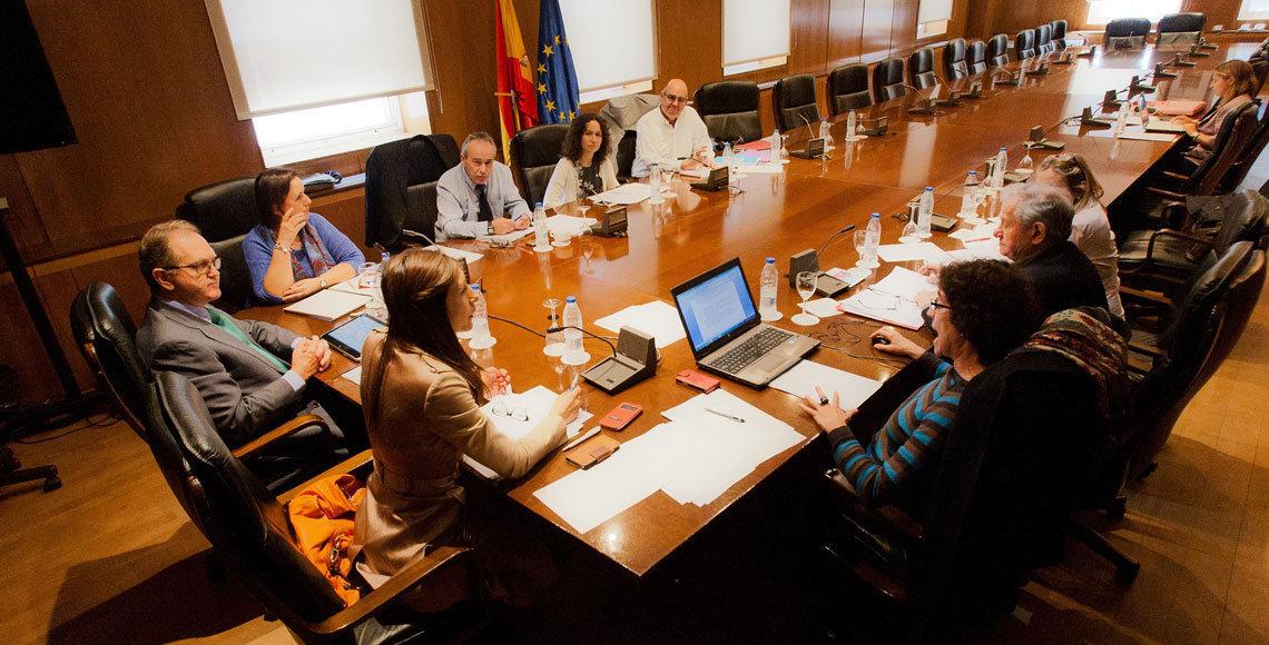 Reunión de los miembros de la Comisión de Educación del Consejo General de la Ciudadanía Española en el Exterior.