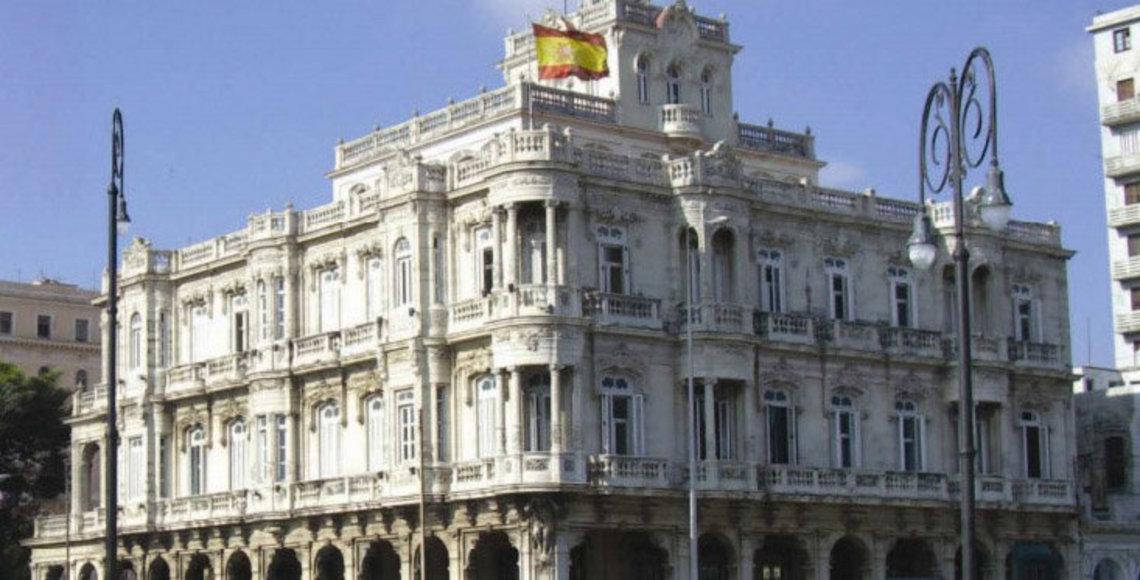 Consulado de España en Cuba. Foto: thediplomatinspain.com