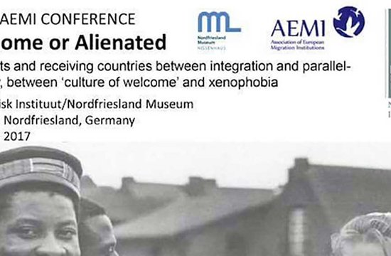 "Gorka Álvarez Aranburu participa  en el seminario de emigración ""At Home or Alienated"""