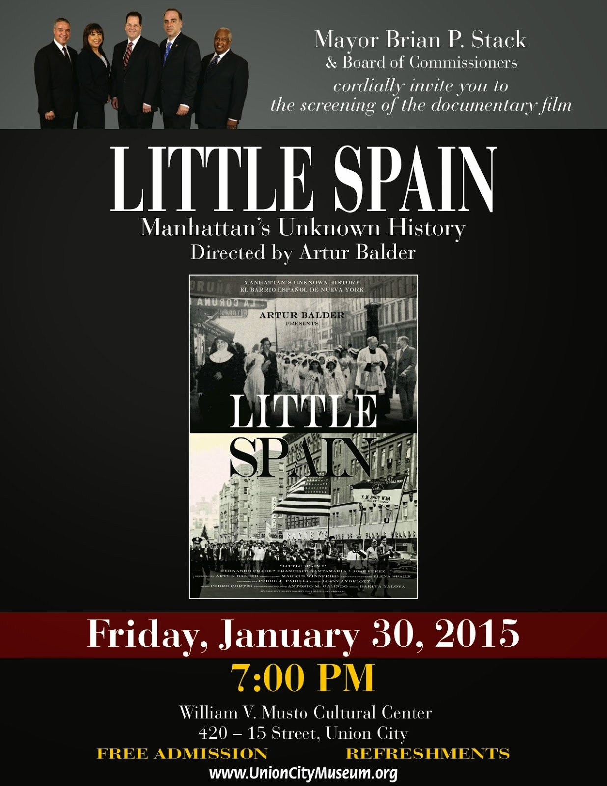 Little Spain flyer